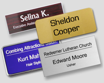 Classic Name Tags