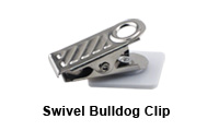 Swivel Bull-Dog Clip Fastener