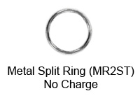 Silver Metal Split-Ring
