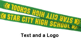 Lanyards w/ Text and Logo