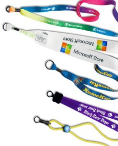 Imprinted, cord and ribbon custom lanyards sold by Coller Industries Incorporated