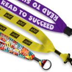 custom imprinted lanyards are used everywhere including schools, office buildings, sporting events and more.