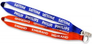 two branded lanyards from Coller Industries Incorporated