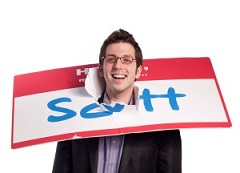 Scott Ginsberg, the Name Tag Guy