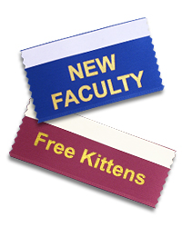 badge ribbons to meet all of your school and classroom needs