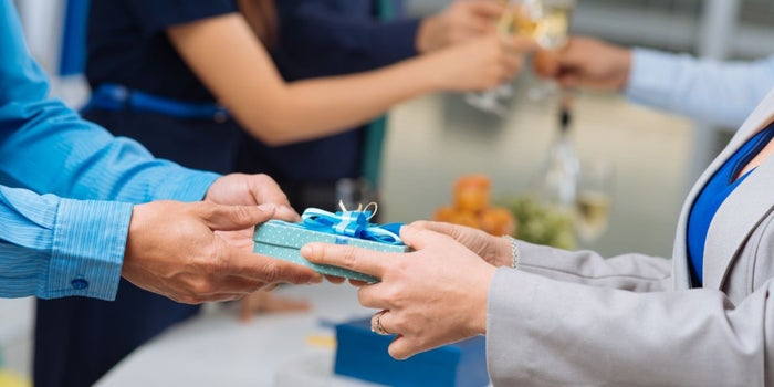 corporate gifting to employees