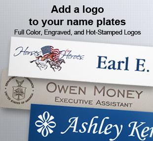 classic name plates no logo name tag inc