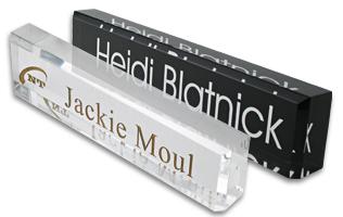 Desk Blocks Modern Desk Blocks Name Tag Inc