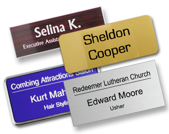 Classic Name Tags Use Name Tag Templates Or Custom Design - Sample name tag templates