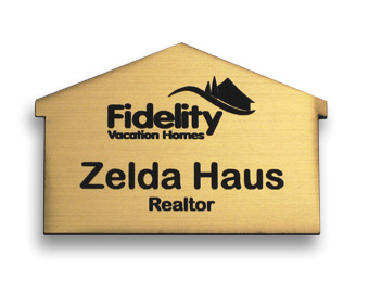 example of a house name tag