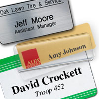 use reusable name badges in schools for an easy way to identify teachers and staff
