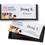 speedy badges and other reusable name badges are perfect for visitor ID badges
