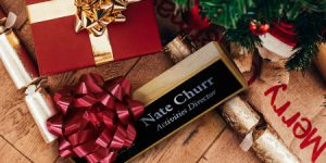 use executive name wedges for your corporate gifts this year