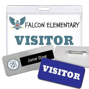 use visitor ID badges for all of your security and identification needs