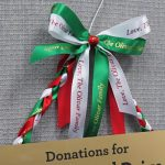 hosting the holidays is easier with custom signs and personalized ribbons