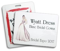 Conference Name Tags to customize for any event.