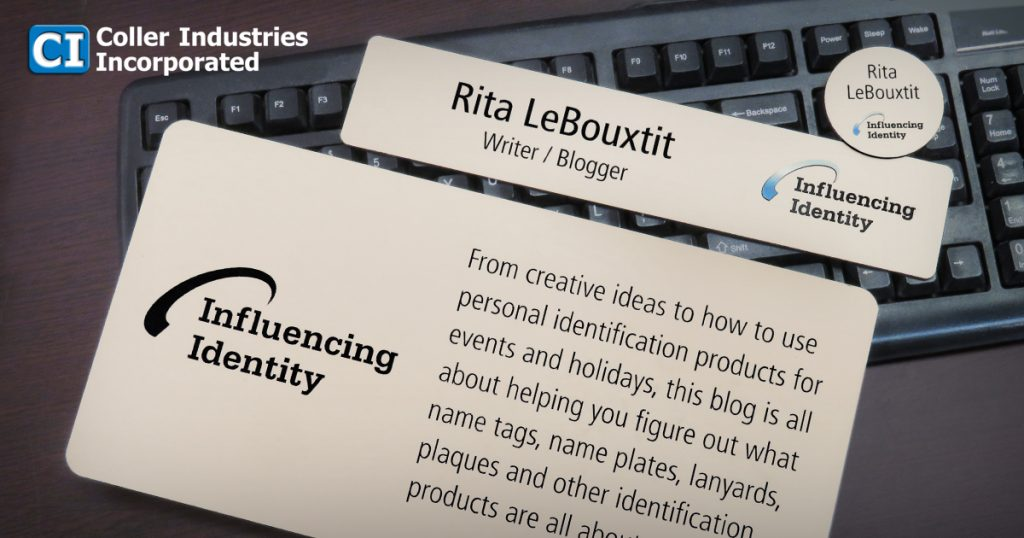 Influencing Identity is the blog for Name Tag, Inc.