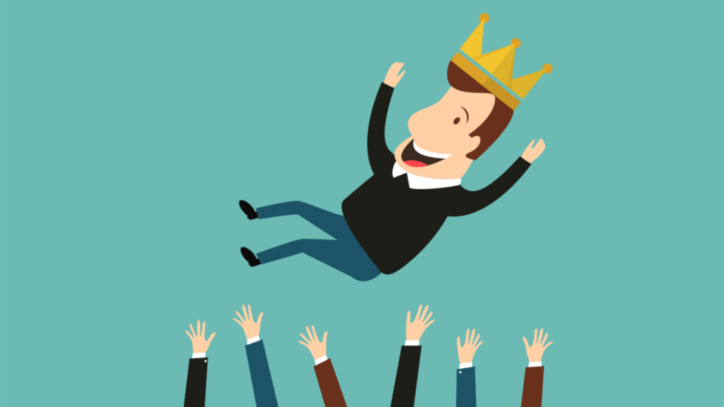 giving your customer the royal treatment