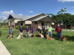 Big Dog Ranch Rescue working with the community in donations and charity work.