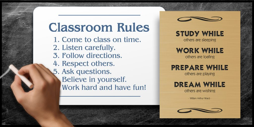 A Teacher's Guide to Student Engagement (Using Custom Signs) - The Learning Center By Coller Industries