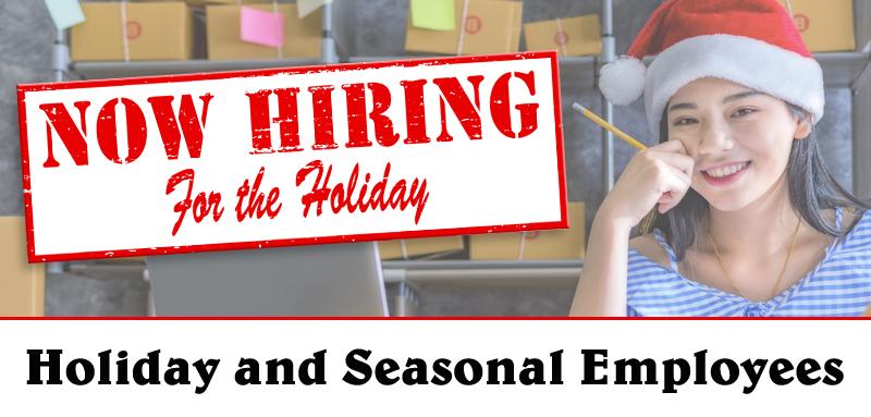 Hiring Holiday and Seasonal Employees business tips